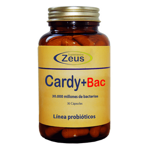 Cardy+Bac – Zeus – 30 capsulas