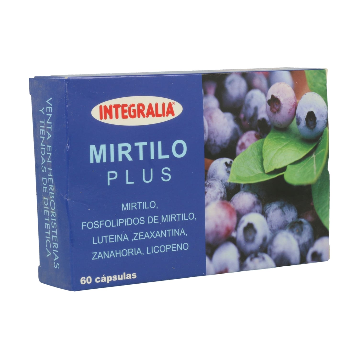 Mirtilo Plus – Integralia – 60 cápsulas