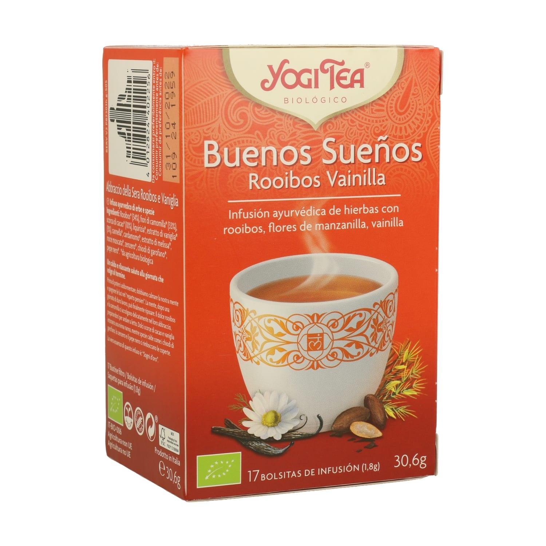 Buenos Sueños Rooibos y Vainilla – Yogi Tea – 17 filtros