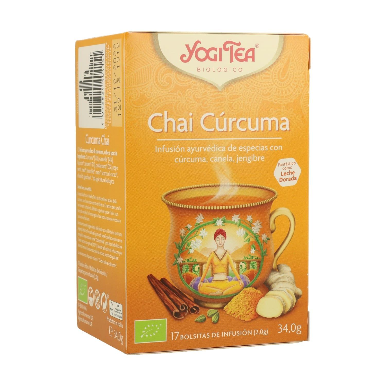 Chai Cúrcuma – Yogi Tea – 17 filtros