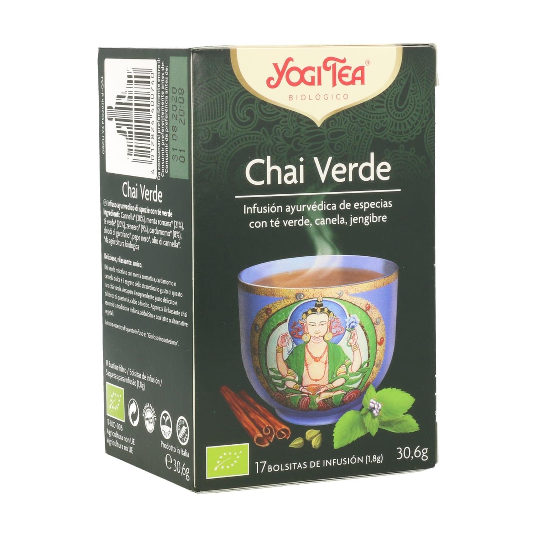 Chai Verde – Yogi Tea – 17 filtros