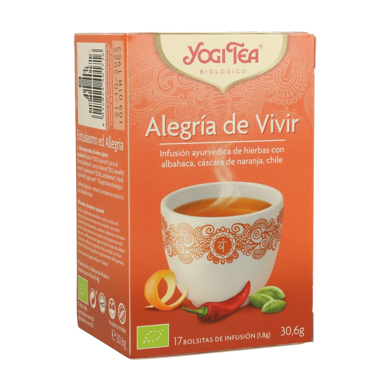 Alegría de Vivir – Yogi Tea – 17 filtros