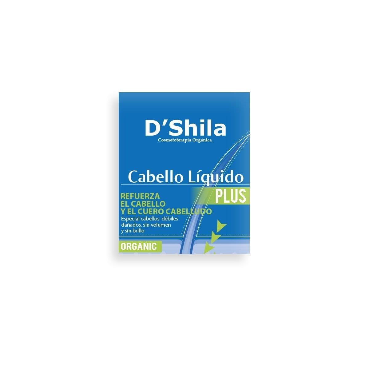 Cabello Líquido Plus – D'Shila – 35 ml