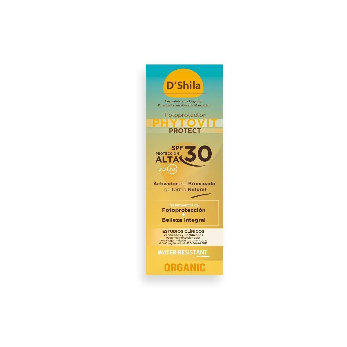 BRONCEADOR PHYTOVIT SPF 30 Activador del bronceado de forma natural