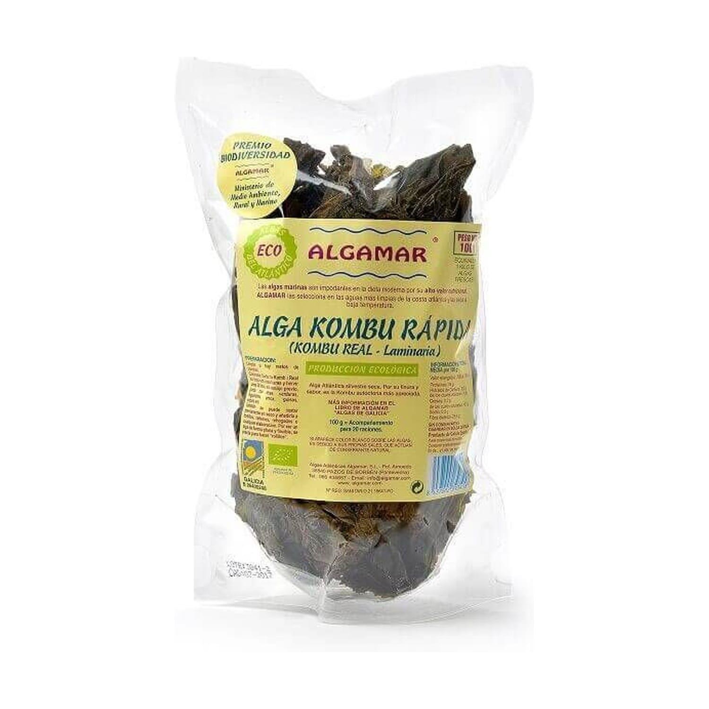 Algas Kombu Cocción Rápida – Algamar – 100 gr
