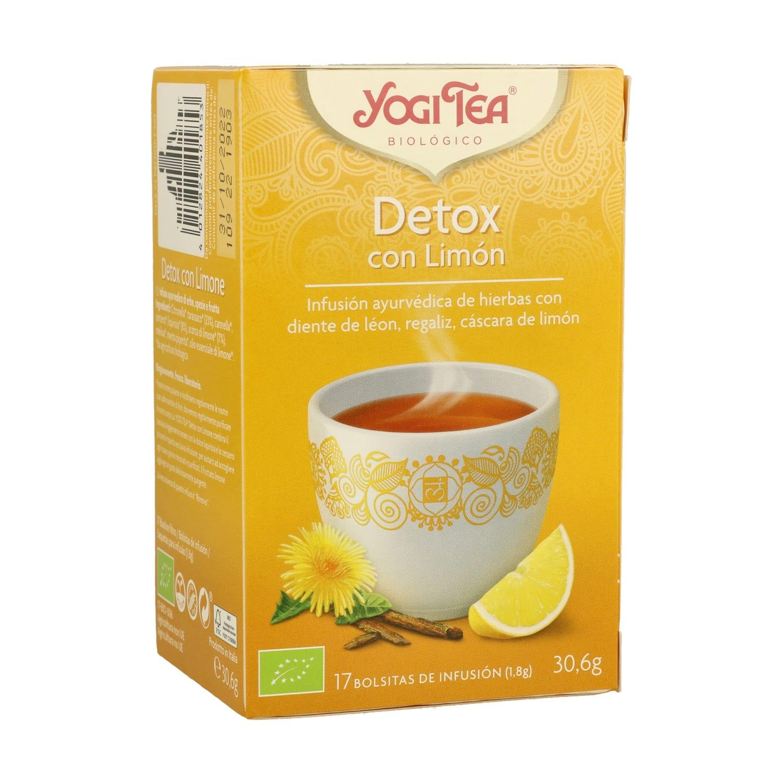 Detox con limón – Yogi Tea – 17 filtros