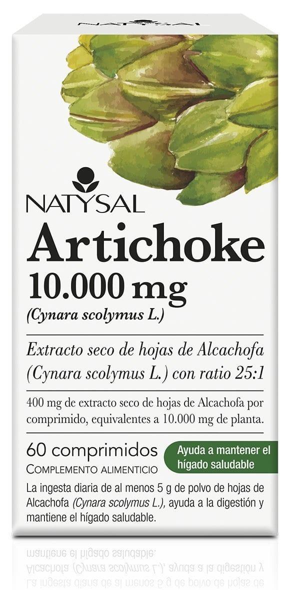 Artichoke 10000 mg (Alcachofa) – Natysal – 60 comprimidos
