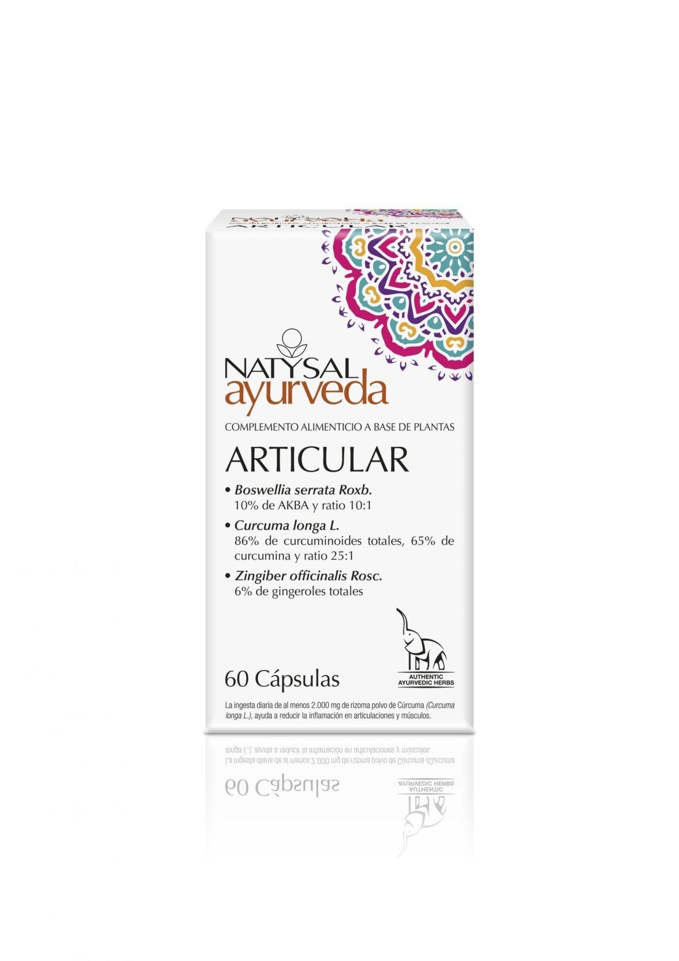 Articular Ayurveda – Natysal – 60 cápsulas