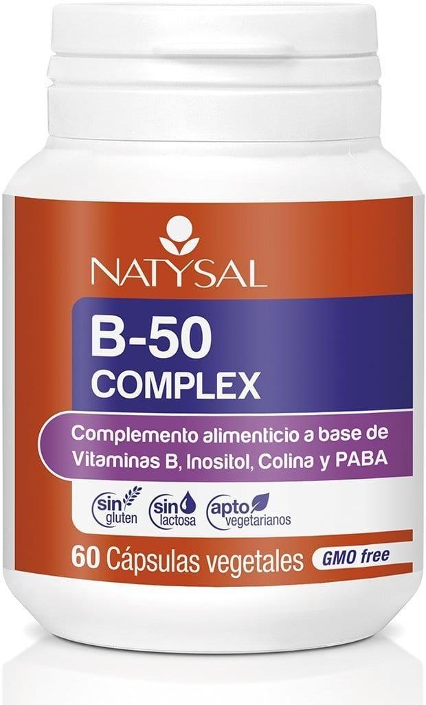 B-50 Complex – Natysal – 60 Cápsulas