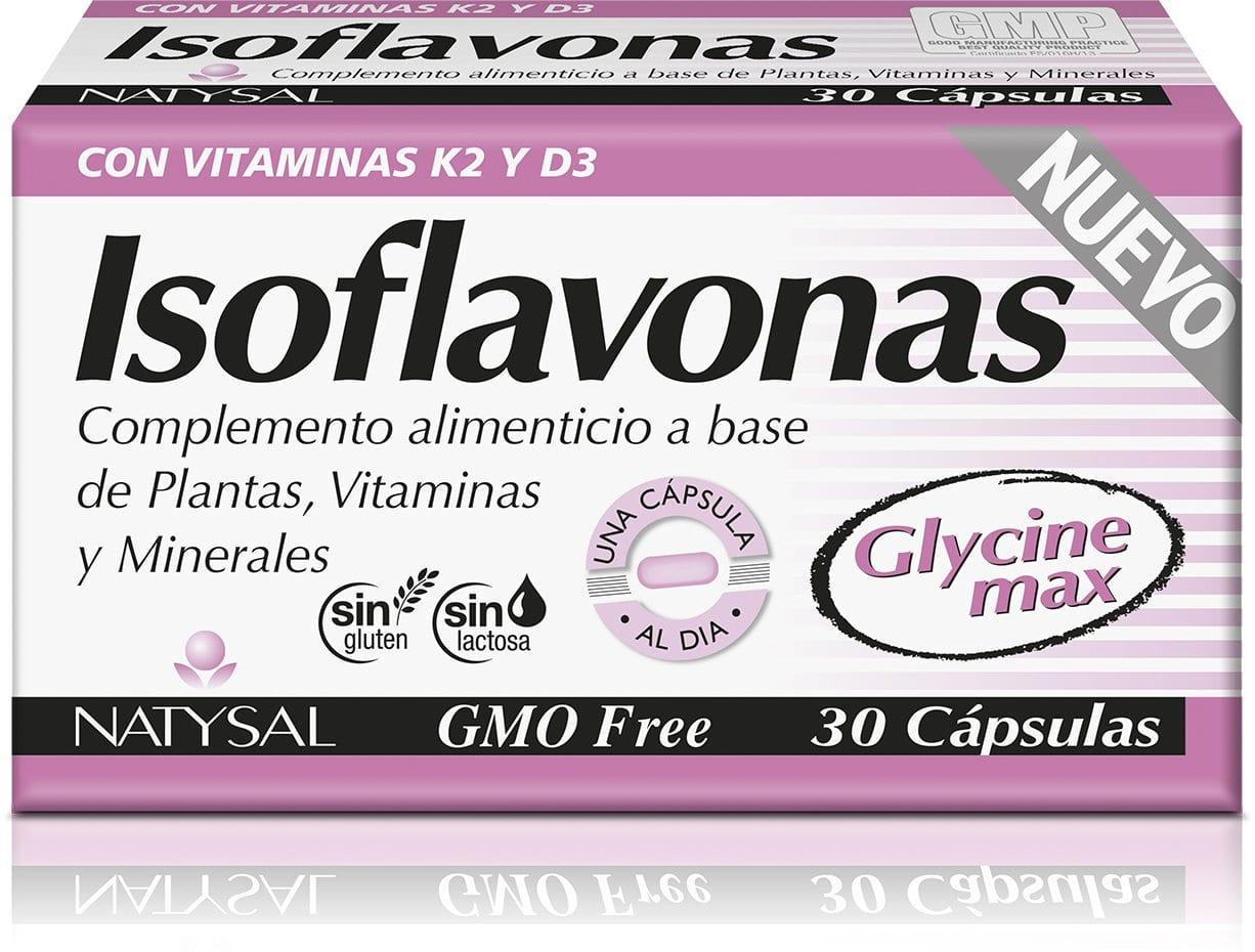 Isoflavonas – Natysal – 30 cápsulas