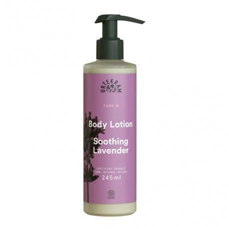 Loción corporal de Stoohing Lavender lavanda Urtekram 245 ml