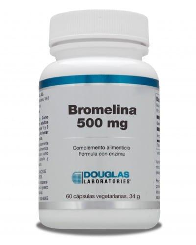 Bromelina 500mg – Douglas – 60 cápsulas