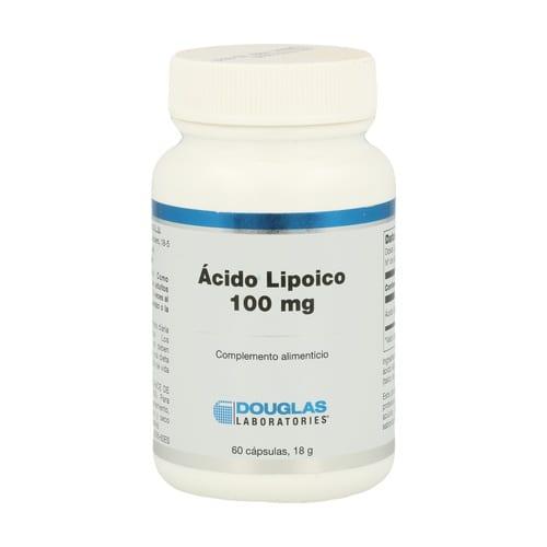 Ácido Lipoico 100 mg – Douglas – 60 cápsulas