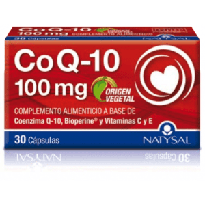 Coenzima Q10 100 mg – Natysal – 30 cápsulas