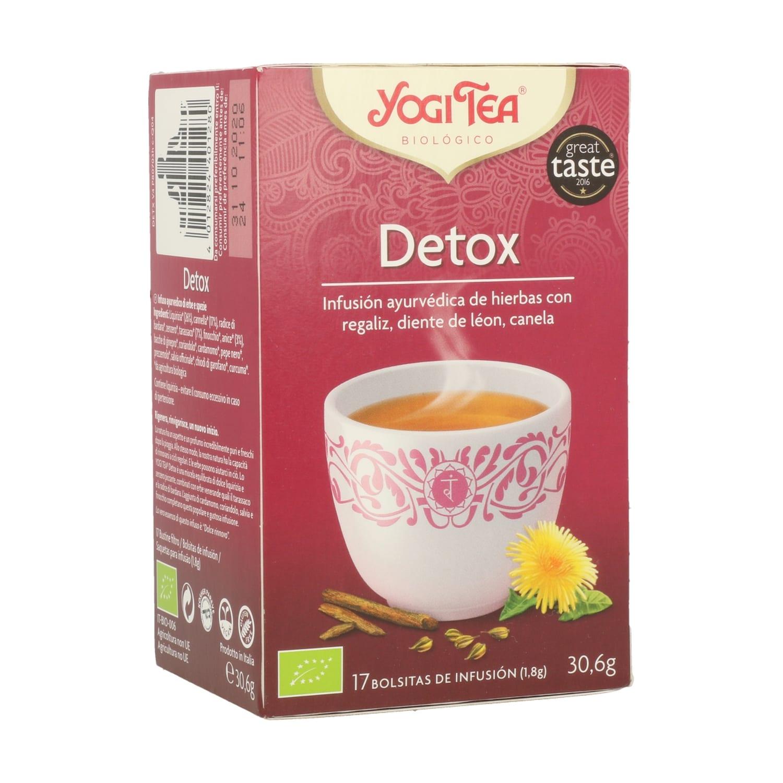 Detox – Yogi Tea – 17 filtros
