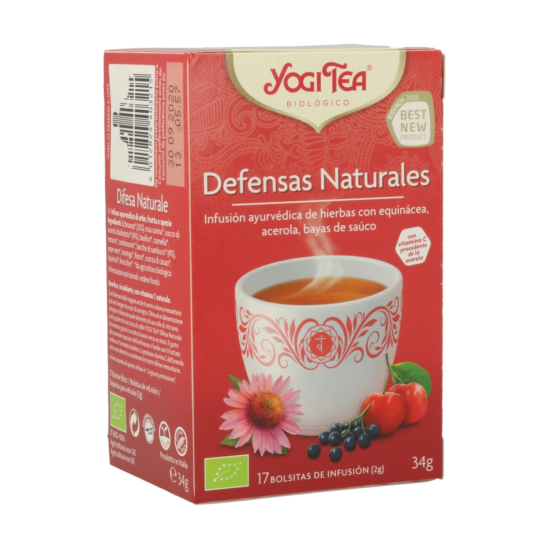 Defensas Naturales – Yogi Tea – 17 filtros