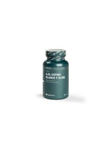 Ajesol (Ajo, Espino Blanco y Olivo) – Herbora – 90 Perlas