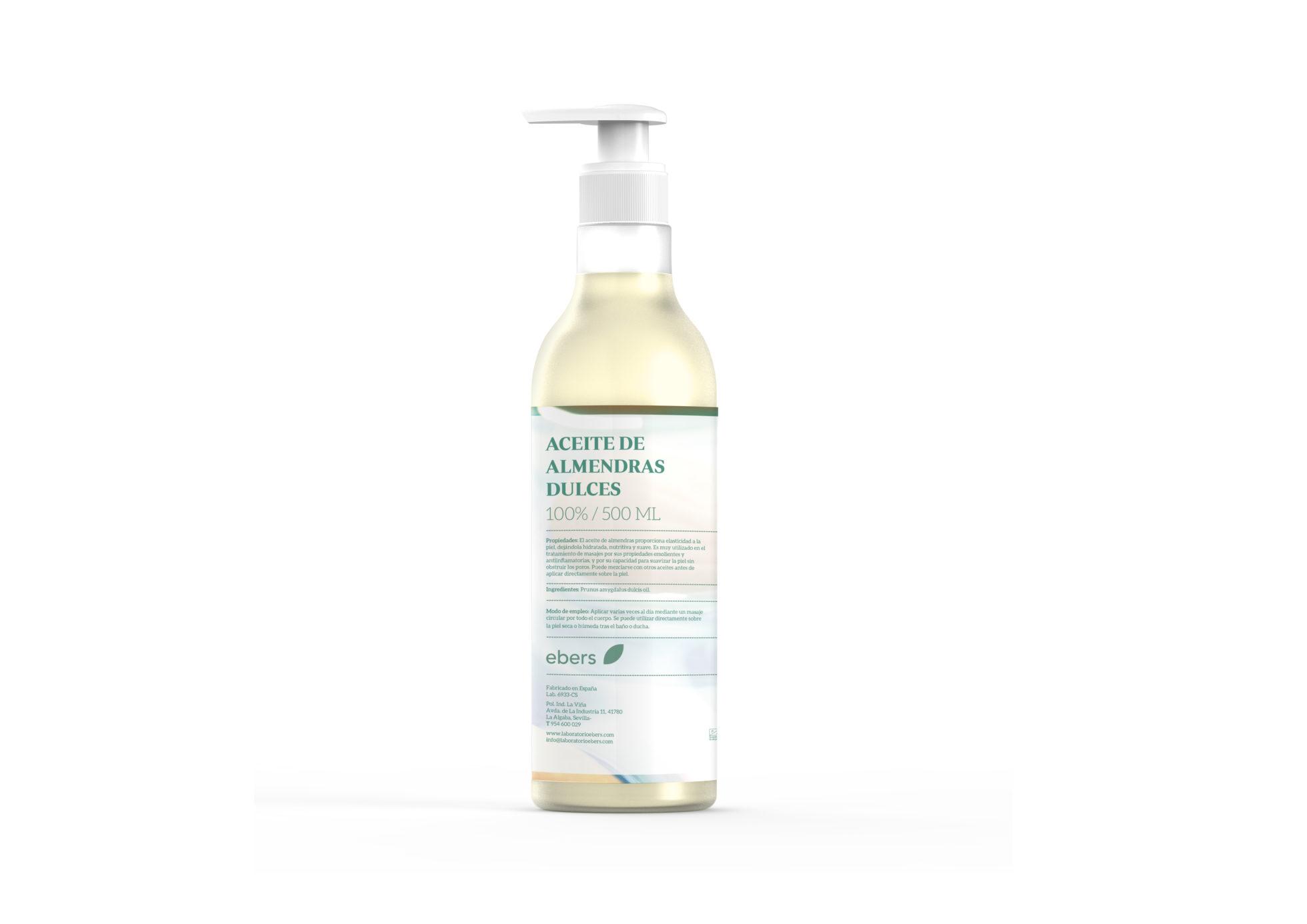 Aceite de Almendras Dulces – Ebers – 500 ml