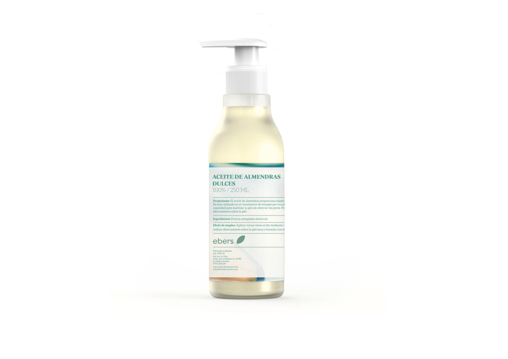 Aceite de Almendras Dulces – Ebers – 250 ml